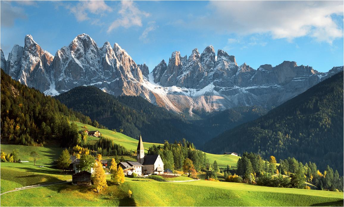 Альпы растянулись по территории почти десяти государств