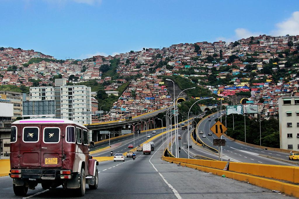 Город Каракас является столицей Венесуэлы и культурным центром государства