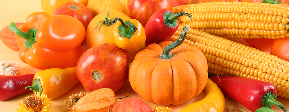 Для печени полезно употреблять в пищу фрукты и овощи оранжевого и красного цвета
