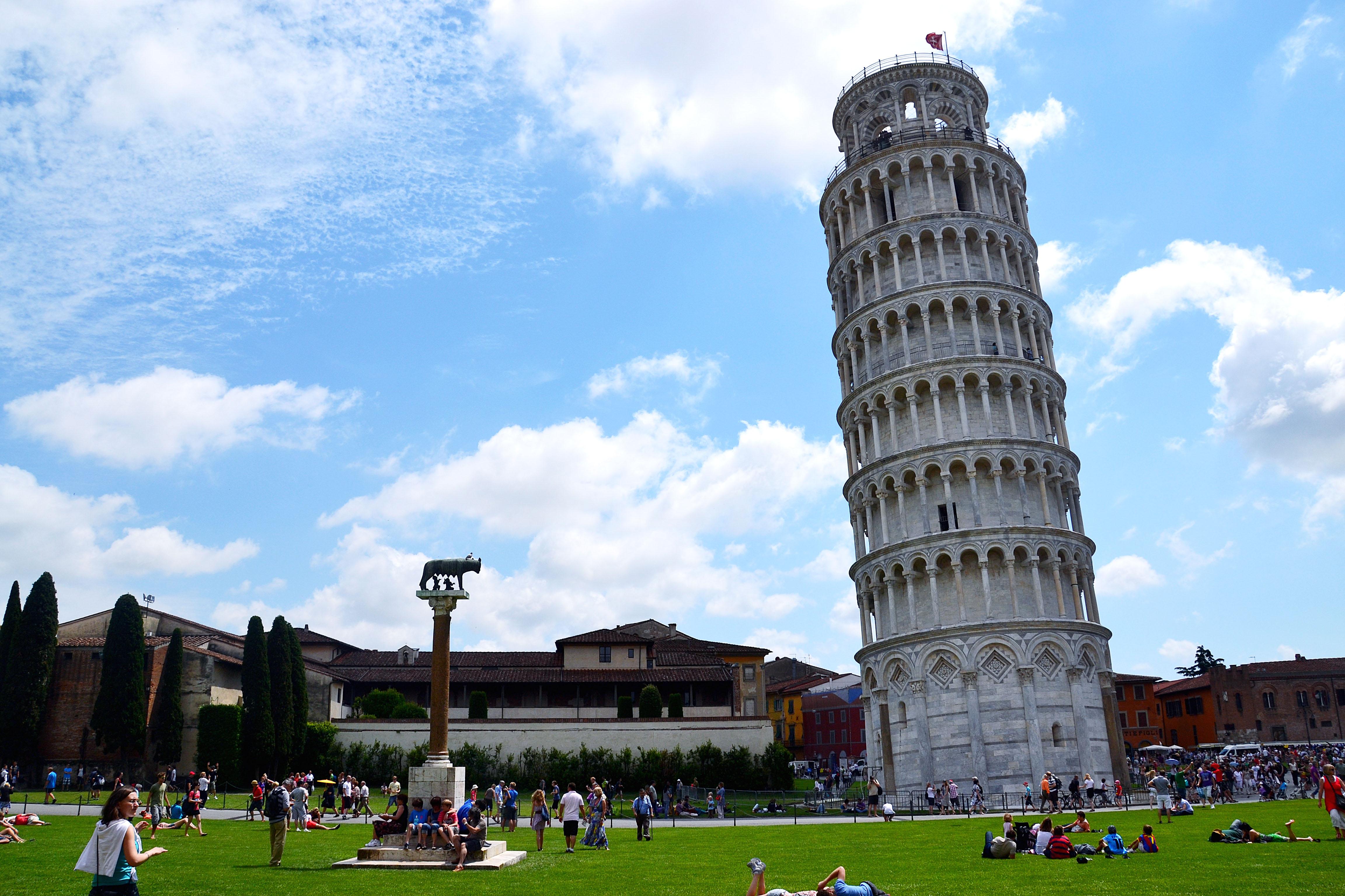 Фото пизанской башни