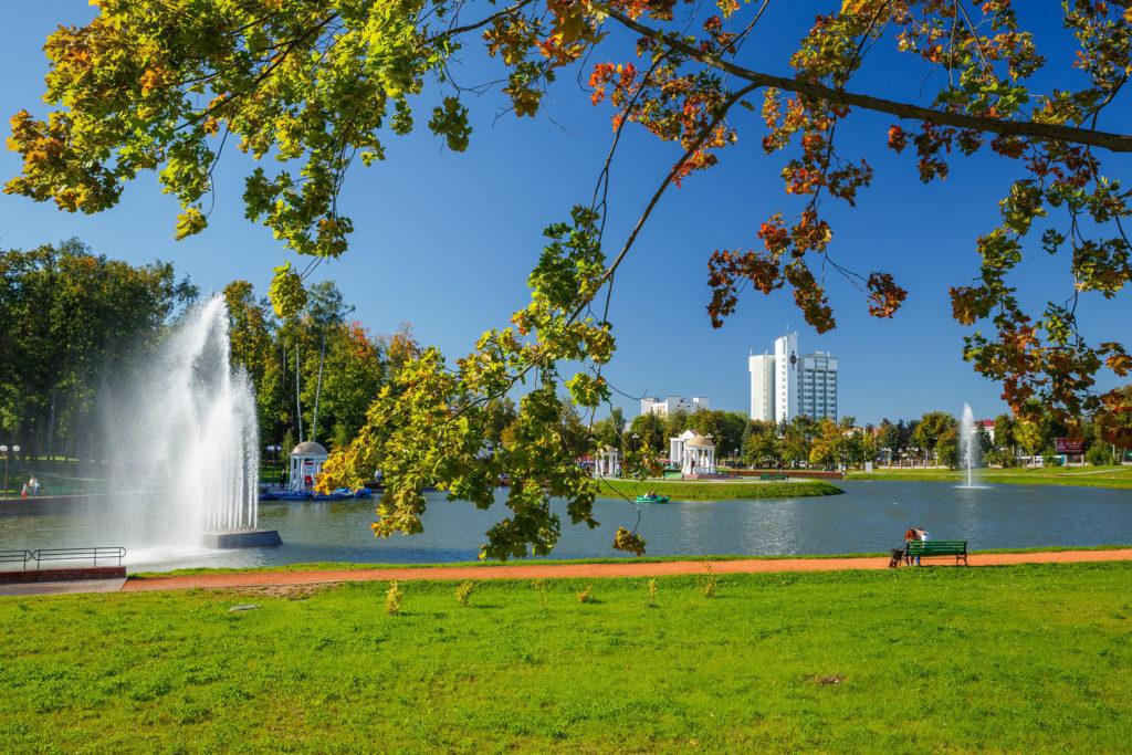 Парк в Молодечно