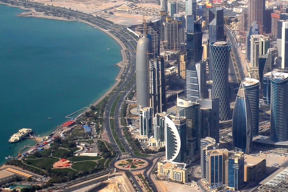 Где находится Катар - страна на карте мира. Государство и республика.