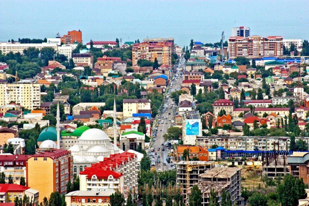 Где находится Махачкала - в какой республике, какая страна, город, на карте России