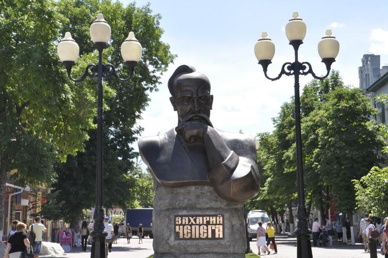 памятник атаману Чепеге