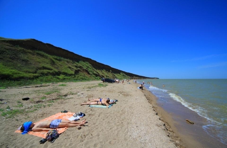 дикий пляж «Обрыв»