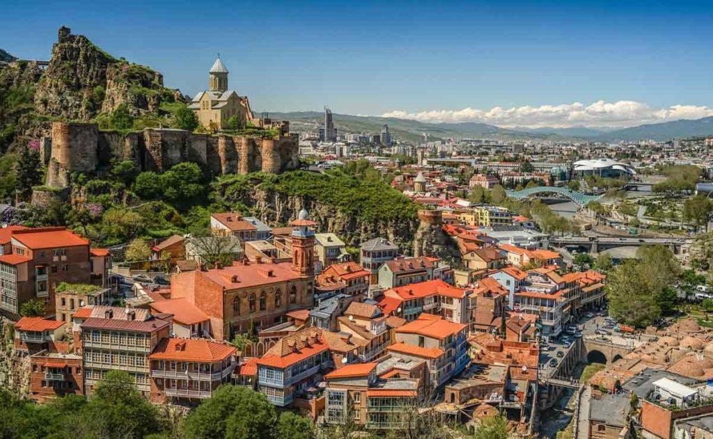 Где находится Грузия - на карте мира, Тбилиси
