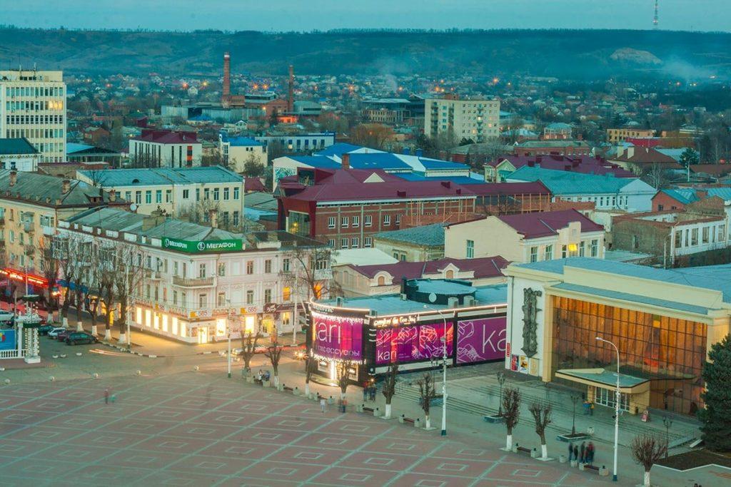 Где находится Армавир - в какой области, город, на карте России