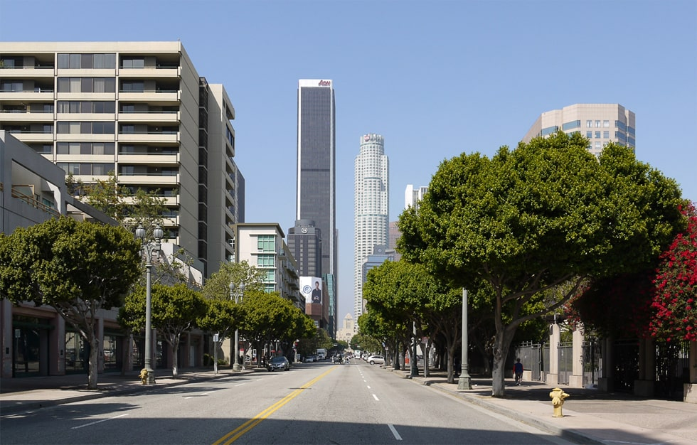 Где находится Лос-Анджелес, в какой стране, на карте, в каком штате