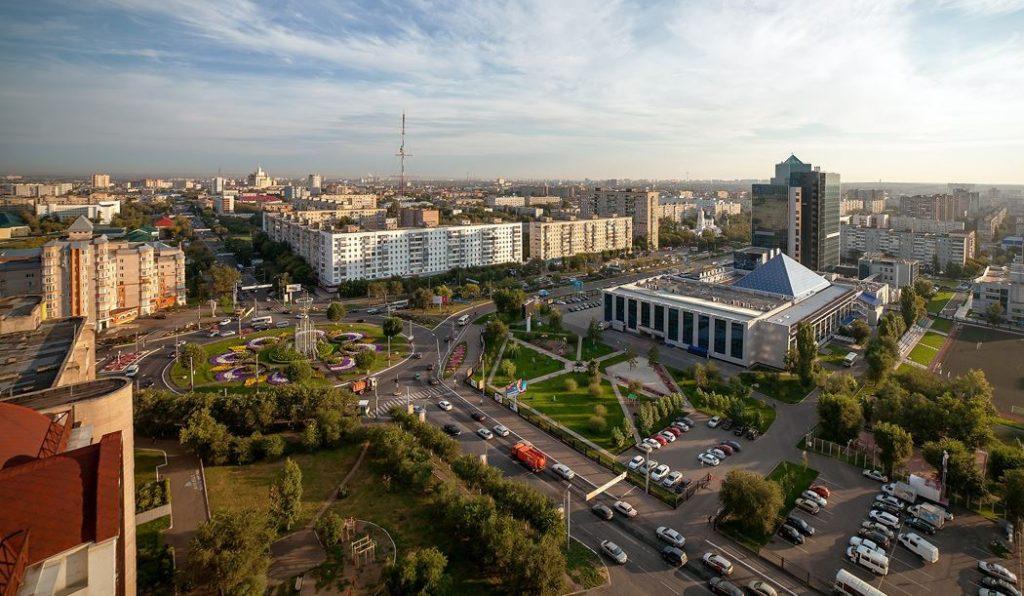 Где находится Оренбург - Расстояние от Москвы.
