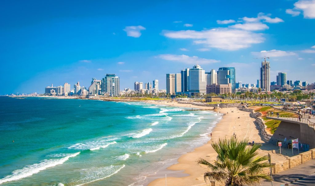Где находится Израиль - на карте мира. На каком материке? Стена плача и Мертвое море