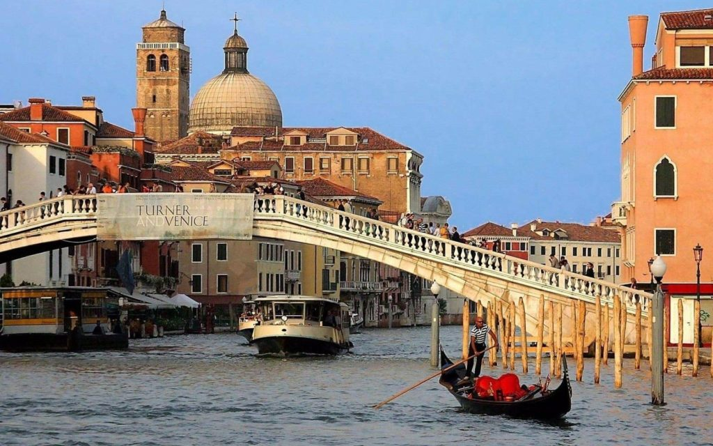 Где находится Венеция - на карте мира. В какой стране?