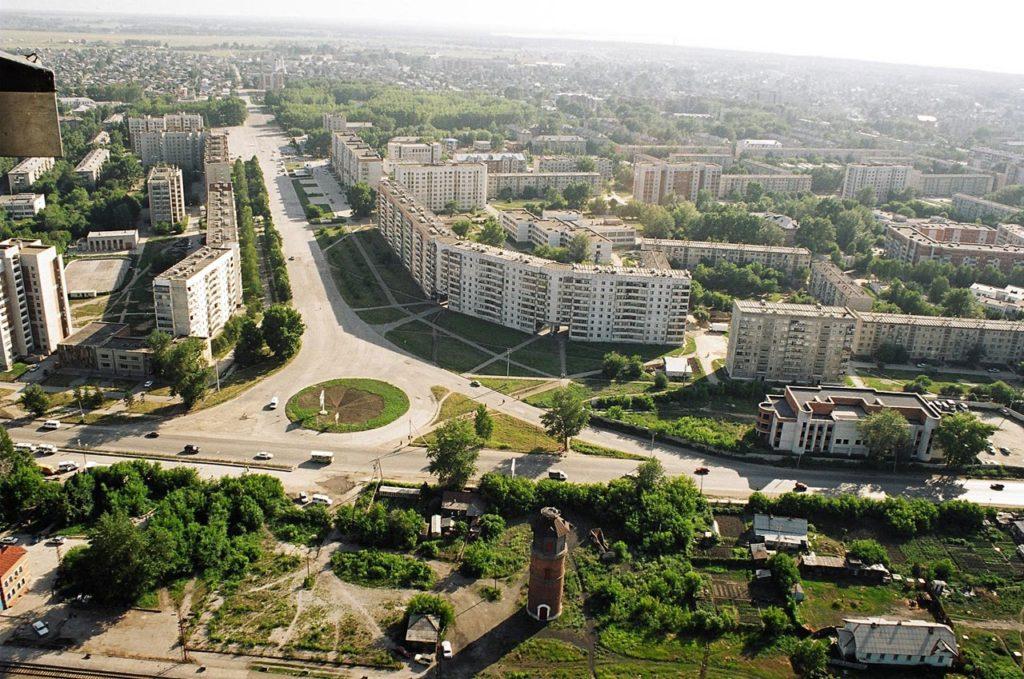 Где находится город Бердск - в какой области, на карте России.