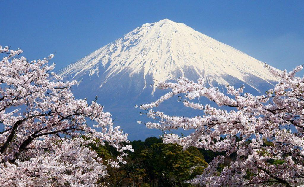 Где находится гора Фудзияма - на карте?