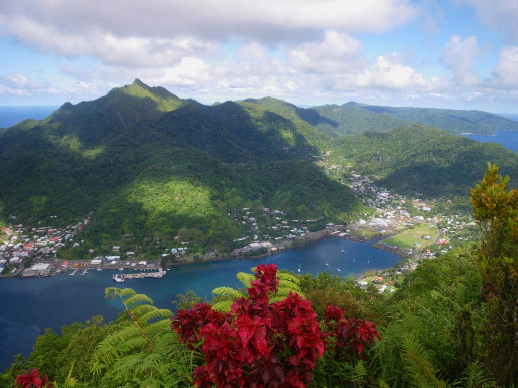 Где находится остров Самоа - на карте, в какой стране?