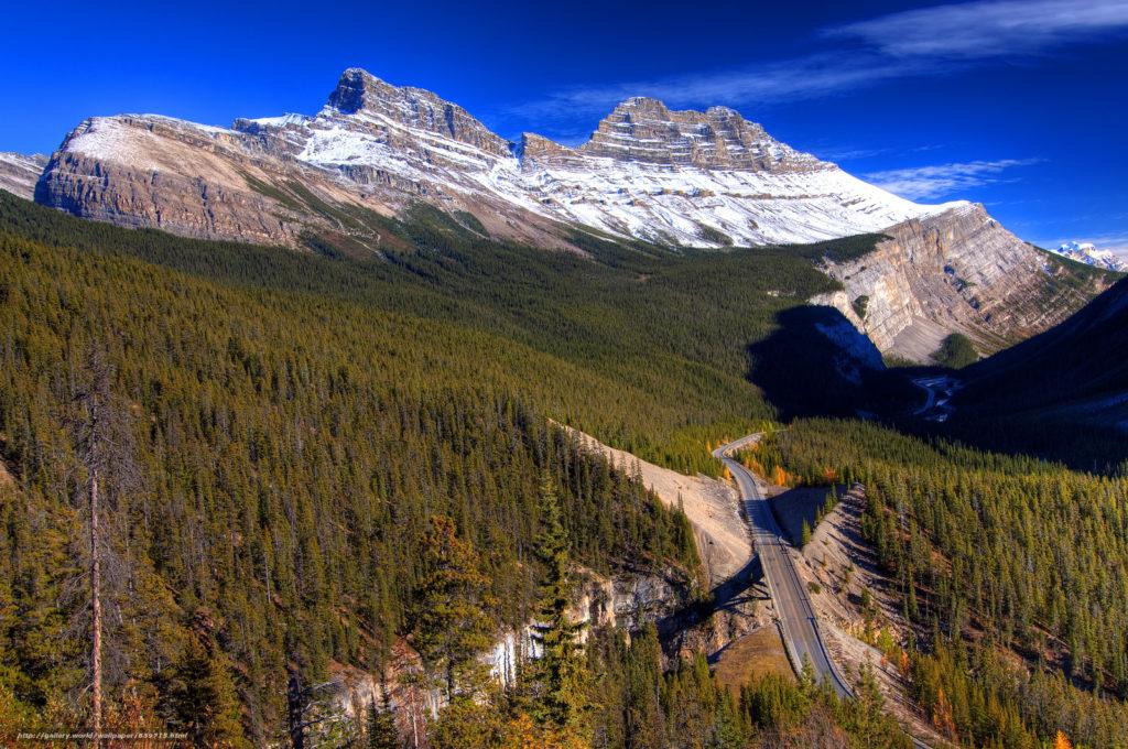 Где находятся Скалистые горы - на карте, в Северной Америке?