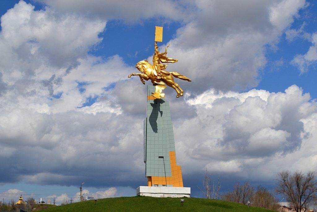 Где находится Элиста в России - какая область?
