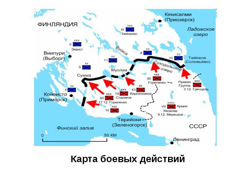 Город Портовый где находится? Карта Ленинградской области.