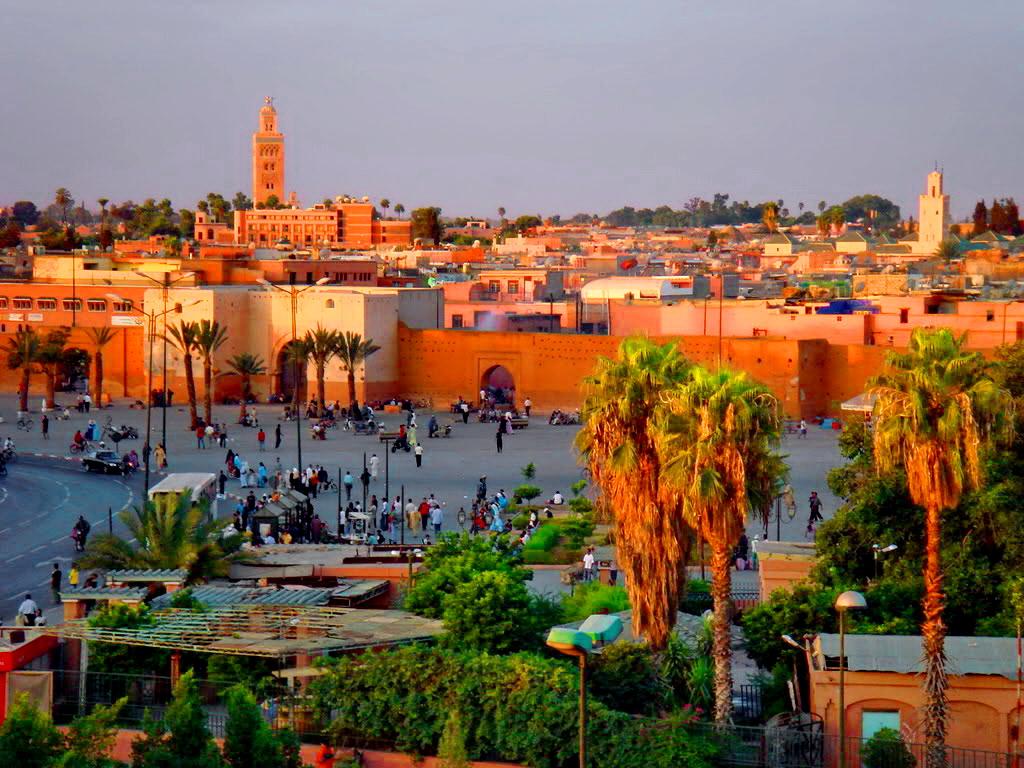Где находится Марокко - на карте Африки? В какой стране?