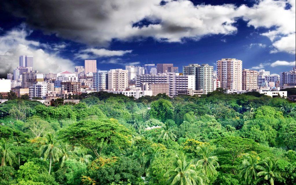 Бангладеш Где находится на карте мира столица фото достопримечательности отдых и туризм