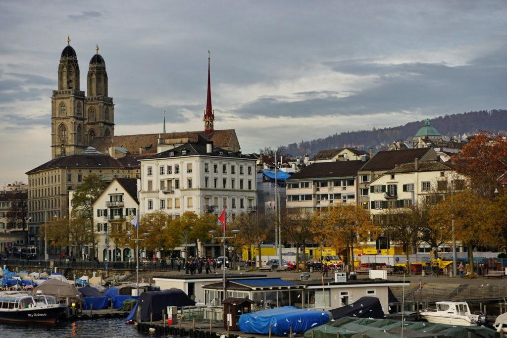 Где находится город Цюрих - в какой стране?