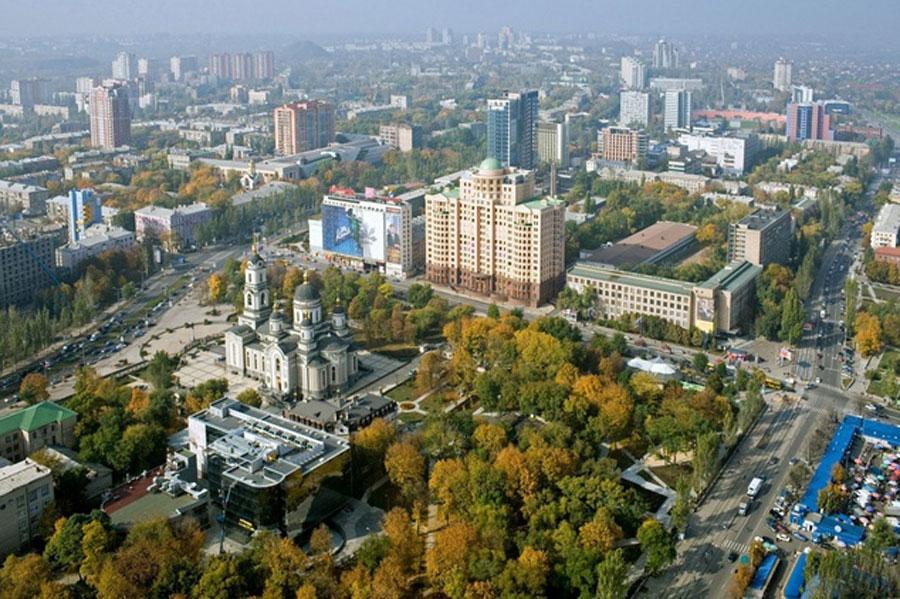 Где находится Донбасс - на карте России?