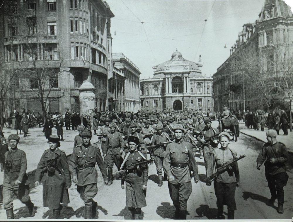 Освобождение Одессы 1944 г.